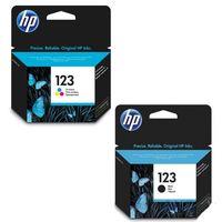 HP 123 ink cartridge Black+ 123 Tricolor Cartridge Bundle