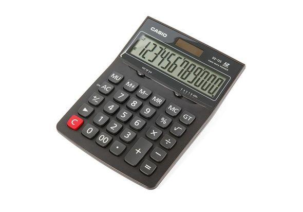 Casio DZ12S-R Value Series Calculator