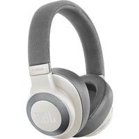 جية بي أل , JBL E65BTNC سماعة الرأس بلوتوث فوق الأذن مانعة للضوضاء,  White