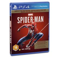 Spider Man Game of The Year Edition for PS4