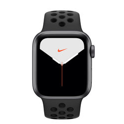Apple Watch Series 5 44mm Nike Space Gray Aluminum Case with Nike Sport Band, GPS