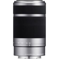 Sony E 55-210mm f/4.5-6.3 OSS E-Mount Lens, Silver
