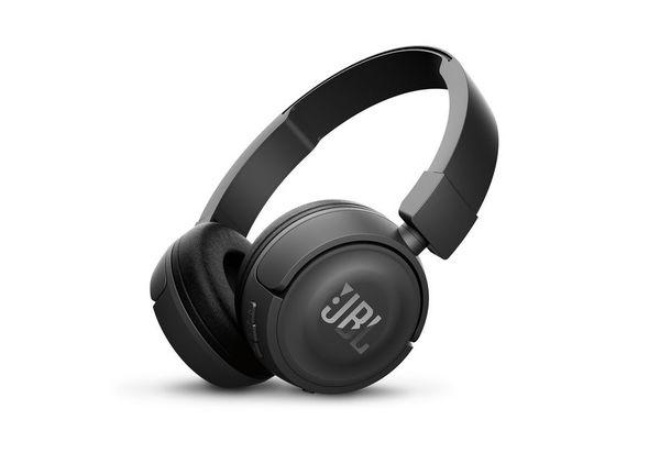 JBL T450BT Wireless on-ear headphones, Black