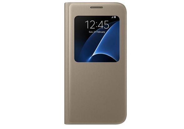 Samsung Galaxy S7 S View Gold