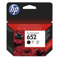 HP 652 Black Original Ink Advantage Cartridge with HP 652 Tri-color