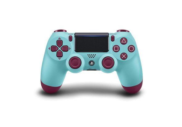 Sony PS4 DualShock 4 Wireless Controller, Berry Blue