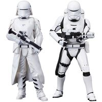 Comicave Studios star wars first order snowtrooper+ ACY- flametrooper two pack artfx