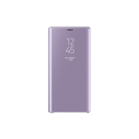 Samsung Note 9 Clear View Cover,  Purple