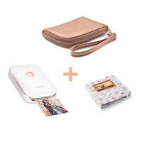 HP Sprocket Photo Printer with Wallet Case and Photo Album