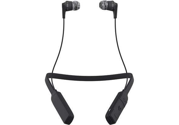 Skullcandy INK D WIRELESS In-Ear Wireless Headphones, Gray/Black