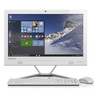 "Lenovo IdeaCentre AIO 300 i3 4GB, 1TB 23"" Desktop, White"