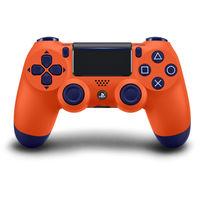 Sony PS4 Dualshock Wireless Controller, Sunset Orange