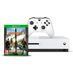 Microsoft Xbox One S 1TB Console with The Division 2 Game
