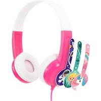 ONANOFF BuddyPhones Discover Headphones, Pink
