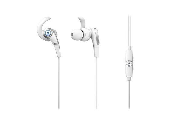 Audio Technica Sonicfuel Headphones, White
