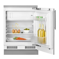 Teka 125 Liters Mini Fridge, Built-In Single Door Refrigerator+ Freeze TFI3 130 D