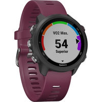 Garmin Forerunner 245 Music GPS Running Smartwatch, Berry