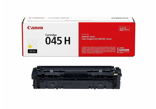 Canon Original 045 Toner Cartridge, Yellow