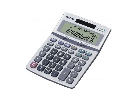 Casio DW-120MS-R Type Desktop Calculator