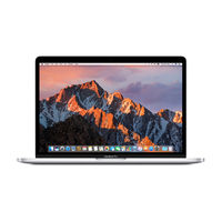 "Apple MacBook Pro Touch Bar 15"" i7 16GB, 256GB Laptop, Silver"