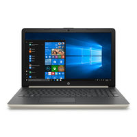 "HP Notebook 15-DA1092NE i7 12GB, 1TB+ 128GB 2GB Graphic 15"" Laptop, Gold"