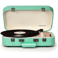 Crosley CR6026A-TL Coupe Bluetooth Turntable, Teal