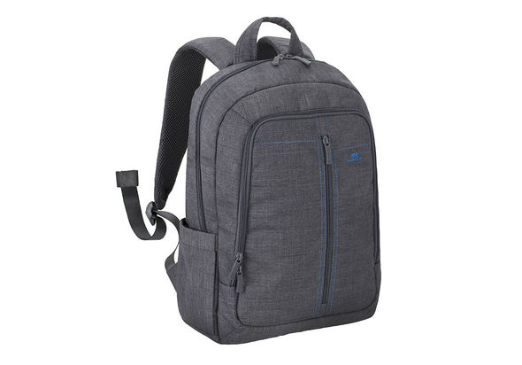 Riva Case 7560 Laptop Canvas Backpack 15.6  , Grey