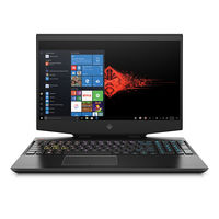 "HP OMEN 15-DH0000NE i7 16GB, 1TB+ 256GB 6GB Nvidia GeForce GTX 1660 Ti 15.6"" Gaming Laptop"