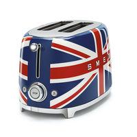 Smeg TSF01UJUK 2 Slice Toaster, Union Jack