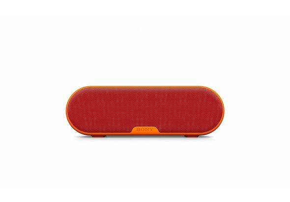 Sony SRSXB2/RC Portable BT/NFC speaker 20W, Red