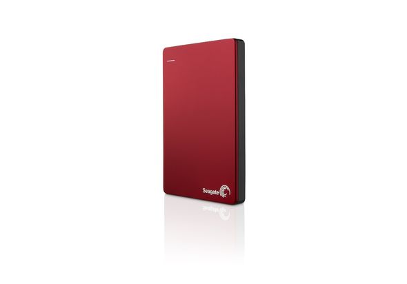 Seagate Slim 2TB Hard Disk,  red