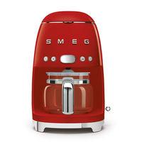 Smeg DCF02RDUK Drip Filter Coffee Machine, Red