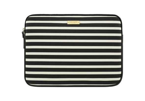 Kate Spade New York Sleeve for 13  Apple MacBook, Fairmont Square Black/Cream