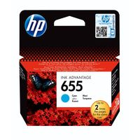 HP CZ109AE 655 Black Original Ink Advantage Cartridge