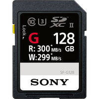 Sony 128GB SF-G Series UHS-II SDXC Memory Card