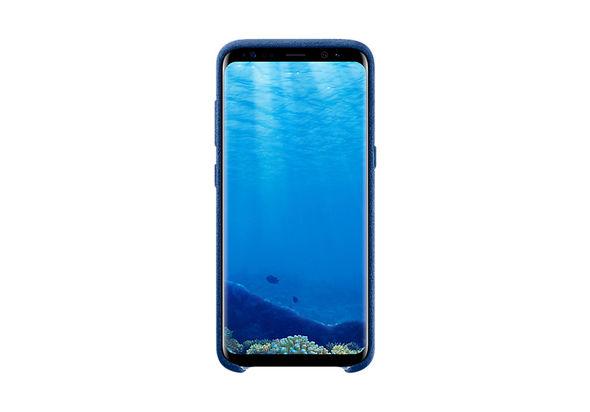 Samsung Galaxy S8 Alcantara Cover, Blue