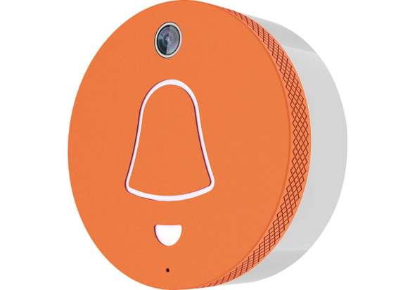 Grains Video Door Bell, Orange