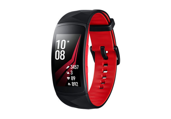 Samsung Gear Fit2 Pro Small, Red