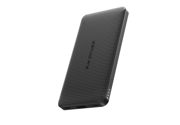 RAVPower 10000mAh PD 18W QC 3.0 Power Bank,  Black