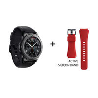 Samsung Gear S3 frontier and Active Silicon Band