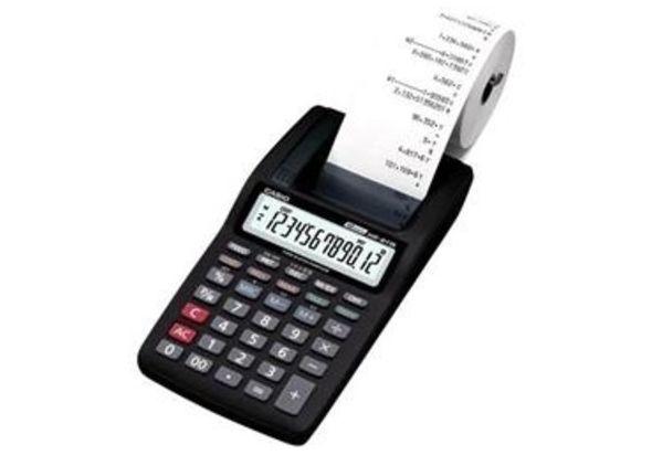 Casio HR8TM-R Printing Calculator
