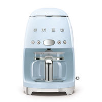 Smeg DCF02PBUK Drip Filter Coffee Machine