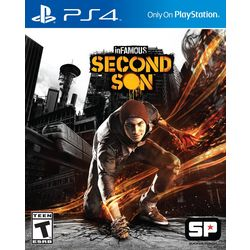 Sony PS4 Infamous Second Son Game