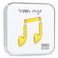 Happy Plugs Earbud, Yellow