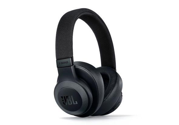 جية بي أل ,JBL E65BTNC أسود ,سماعة لاسلكية مانعة للضوضاء  أعلى الأذن