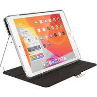 Speck 133537-7578 BalanceFolio Clear iPad 10.2 Inch Case and Stand (2019) , Clear Black