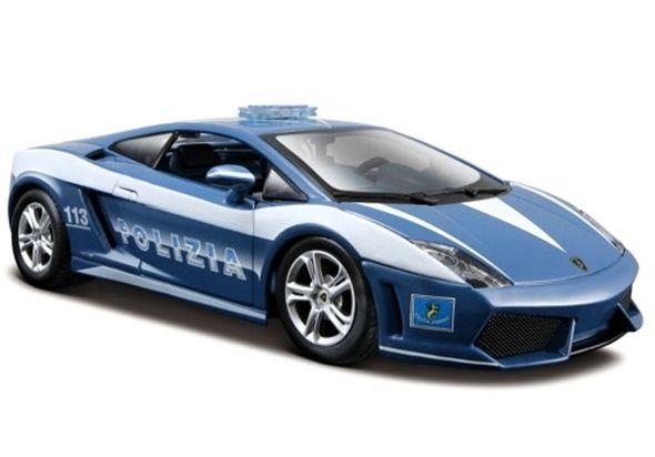 Maisto 1: 24 Lamborghini Gallardo LP560-4 Polizia