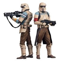 Comicave Studios star wars rogue one scarif storm trooper artfx 2 pack