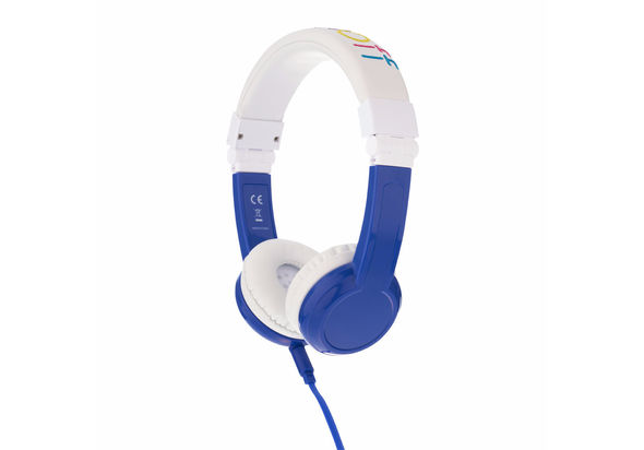 Onanoff BuddyPhones Explore Foldable Headphones, Blue