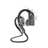 JBL Endurance Dive Wireless Sports Headphones with MP3 Player,  Black
